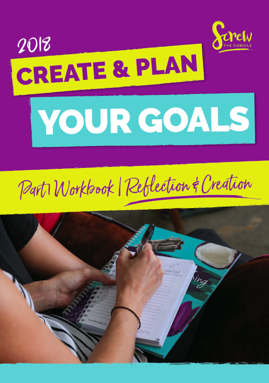 Screw the cubicle Webinar by Lydia Lee on Create and Plan Your Goals