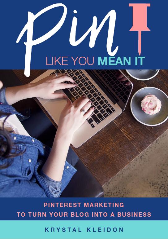 Pin like you mean it Ebook by Krystal Kleidon Project Hot Mess