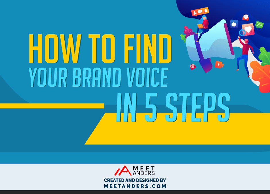 Infographic – How to Find Your Brand Voice in 5 Steps