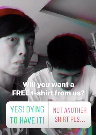 marilyn wo instagram poll t-shirt giveaway